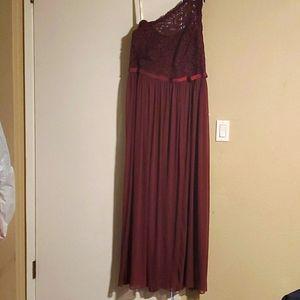 Davids Bridal Bridesmaid Long Dress